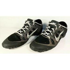 Nike women's black training shoes size 9